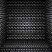 Black Cubic Room - stock illustration