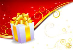 Holiday Gift Stock Illustration