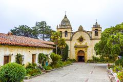 Carmel mission Stock Photos