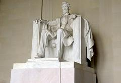 Lincoln Memorial, Washington DC, USA - stock photo