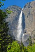 Yosemite Falls, Sierra Nevada Mountains, California, USA Stock Photos