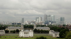 Greenwich Park Time Lapse London Stock Footage