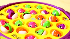 Children's toy Fish without sound Stock Footage