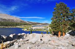 Sierra Nevada Mountains, California, USA - stock photo