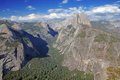 Half Dome, Yosemite National Park, California, USA - stock photo