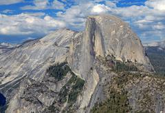 Half Dome, Yosemite National Park, California, USA Stock Photos