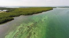 Florida Keys 4K Aerial Footage Stock Footage