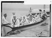 Naval Militia ready to embark Stock Photos
