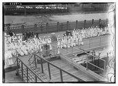 Roll Call - Naval Militia Stock Photos