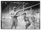 [Al Bridwell & Jimmy Archer, Chicago NL (baseball)] Stock Photos