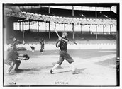 [Walt Kuhn, catcher & Larry Chappell, Chicago AL, at the Polo Grounds, NY (ba Stock Photos