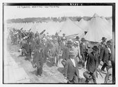 Veterans arriving - Gettysburg Stock Photos