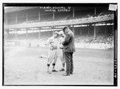 [Managers John McGraw, New York NL, and Miller Huggins, St Stock Photos