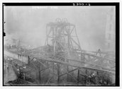Aqueduct fire Stock Photos