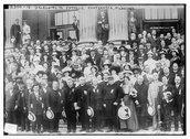 Delegates to Catholic conference, Milwaukee Stock Photos
