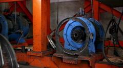 Heavy industry - testing motors Stock Footage
