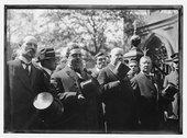 The McManus, Otto Rosalsky, Tom Foley, C.F. Murphy, Tim Sullivan funeral Stock Photos