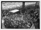 Sullivan funeral - bowery Stock Photos