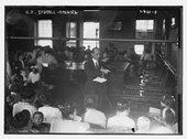 N.Y. schools opening Stock Photos