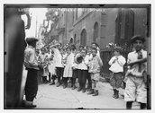 N.Y. school - Italians Stock Photos