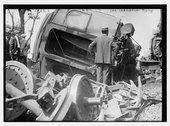 Wreck of car Chrisholm Stock Photos