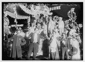 Mardi Gras--Coney Isl. Stock Photos
