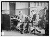 Gov. Glynn and Frank Tierney Stock Photos
