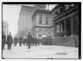 Gaynor fun'l [funeral] - City Hall Stock Photos
