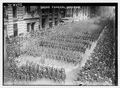 Gaynor Funeral - Broadway. Stock Photos