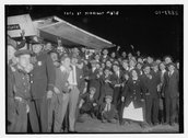 [Fans outside the Polo Grounds, NY] Stock Photos
