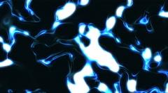 4K Dark Blue Glowing Liquid Energy Background Loop 1 Stock Footage