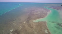 florida keys aerial 4k - stock footage