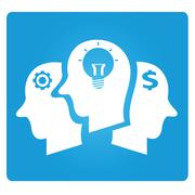 brains - stock illustration