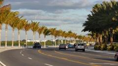 Key west North Roosevelt Boulevard Stock Footage