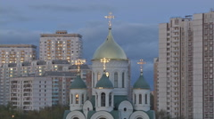 RUSSIA  MOSCOW Stock Footage