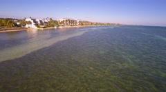 Stock Video Footage of waterfront condominiums key west 4k