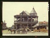 House, Houston, Texas Stock Photos