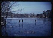 Skating, vicinity of Brockton, Mass. Stock Photos