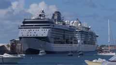 Stock Video Footage of cruise ship Celebrity Summit