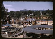 View of the grounds at the Vermont state fair, Rutland Stock Photos