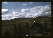Farms in the vicinity of Caribou, Aroostook County, Me. Stock Photos