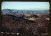 [Mountains along the Skyline Drive in Virginia] Stock Photos