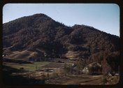 [Mountain farm along the Skyline Drive, Virginia] Stock Photos