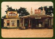 A cross roads store, bar,