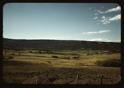 Farmland in Pleasant Valley near Ridgway, Ouray County, Colorado Stock Photos