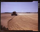 Cultivating a field, Seabrook Farm, Bridgeton, N.J. Stock Photos