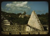 Ruins of an old sugar mill and plantation house, vicinity of Christiansted, S Stock Photos