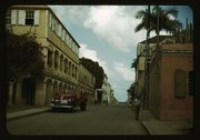 Street in Christiansted, St. Croix? Virgin Islands Stock Photos