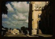 [St. John's Anglican Church, King Street, St. Croix, Virgin Islands] Stock Photos