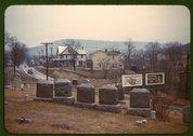 Cemetery at edge of Romney, West Va. Stock Photos